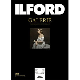 イルフォード ILFORD イルフォードギャラリーゴールドファイバーパール 290g/m2(A2・25枚)ILFORD GALERIE Gold Fibre Pearl 433209[433209]【wtcomo】