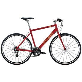 ルイガノ 700×28Cクロスバイク LGS-L9(LG RED/フレームサイズ:370mm(適正身長:150〜165cm)/24段変速)【組立商品につき返品不可】 【代金引換配送不可】