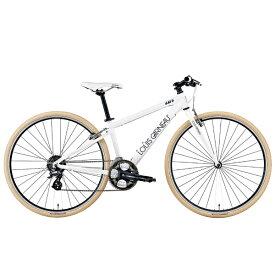 ルイガノ 700×32C クロスバイク LGS-L8(LG WHITE/フレームサイズ:520mm(適正身長:180〜195cm)/24段変速)【組立商品につき返品不可】 【代金引換配送不可】