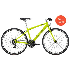 ルイガノ 700×28Cクロスバイク LGS-L9(MATT LIME/フレームサイズ:470mm(適正身長:170〜185cm)/24段変速)【組立商品につき返品不可】 【代金引換配送不可】