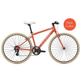 ルイガノ 700×32C クロスバイク LGS-L8(DARK ORANGE/フレームサイズ:420mm(適正身長:160〜175cm)/24段変速)【組立商品につき返品不可】 【代金引換配送不可】
