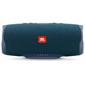 JBL ジェイビーエル ブルートゥーススピーカー JBLCHARGE4BLU ブルー [Bluetooth対応 /防水][JBLCHARGE4BLU]