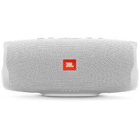 JBL ジェイビーエル ブルートゥーススピーカー JBLCHARGE4WHT ホワイト [Bluetooth対応 /防水][JBLCHARGE4WHT]
