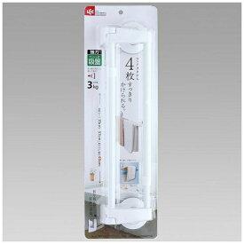 レック LEC 伸縮タオル掛け50cmプッシュ式吸盤 BB-452[BB452]