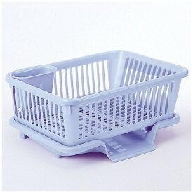 サンコーPC 皿立て水切り籠流1縦型 ブルー 05175 ブルー[05175]