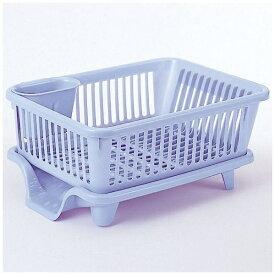 サンコー SANKO 皿立て水切り流れNo2 ブルー 05185 ブルー[05185]