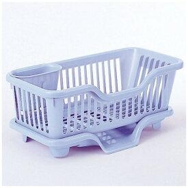 サンコー SANKO 皿立て水切りカゴ縦型スリム ブルー 05195 ブルー[05195]