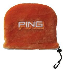 ピン PING アイアンカバー(ホワイト/オレンジ)HC-C192