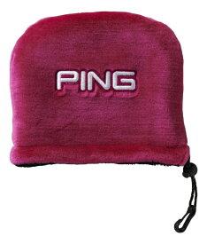ピン PING アイアンカバー(ブラック/マルーン)HC-C192
