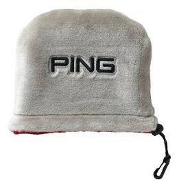 ピン PING アイアンカバー(レッド/シルバー)HC-C192
