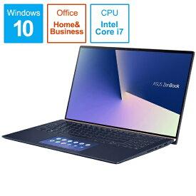 ASUS エイスース ZenBook 15 ノートパソコン ロイヤルブルー UX534FT-A9012TS [15.6型 /intel Core i7 /SSD:512GB /メモリ:16GB /2019年8月モデル][15.6インチ office付き 新品 windows10]
