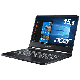 ACER エイサー ゲーミングノートパソコン アビサルブラック PT515-51-A76Y7 [15.6型 /intel Core i7 /SSD:512GB /メモリ:16GB /2019年8月モデル][PT51551A76Y7]