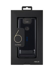 ASUS エイスース ZenFone 6 ZS630KL 専用 Stand Case 90AC03N0-BCS009 ミッドナイトブラック