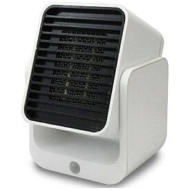 トップランド TOPLAND コンパクトセラミックヒーター SC-CH350 WT ホワイト [人感センサー付き][SCCH350]