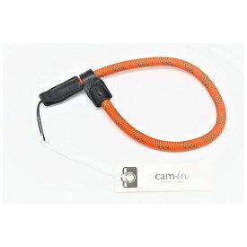 cam-in カムイン ハンドストラップ DWS00227 オレンジ/モスグリーン[DWS00227]