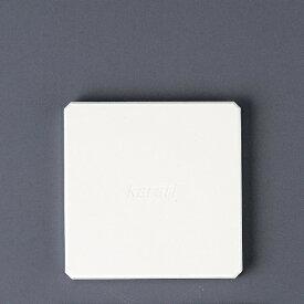 イシガキ産業 ISHIGAKI 珪藻土コースター スクエア ホワイト HO1815 <AKI1402>[AKI1402]
