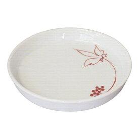 壺々炉 COCORO そば薬味皿 うこぎ(赤) 2707-360 <QYK7101>[QYK7101]