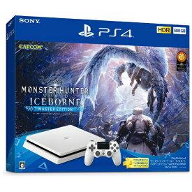 """ソニーインタラクティブエンタテインメント Sony Interactive Entertainmen PlayStation(R)4 """"モンスターハンターワールド:アイスボーン マスターエディション"""" Starter Pack White CUHJ-10031[プレステ4 PS4 本体 ゲーム機本体]"""