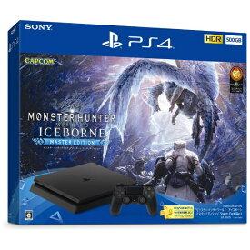 """ソニーインタラクティブエンタテインメント Sony Interactive Entertainmen PlayStation(R)4 """"モンスターハンターワールド:アイスボーン マスターエディション"""" Starter Pack Black CUHJ-10030[PS4 プレステ4 ゲーム機本体]"""