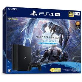 """ソニーインタラクティブエンタテインメント Sony Interactive Entertainmen PlayStation(R)4 Pro """"モンスターハンターワールド:アイスボーン マスターエディション"""" Starter Pack CUHJ-10032[プレステ4 PS4 ゲーム機本体]"""