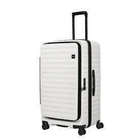 LOJEL ロジェール スーツケース 100L(110L) CUBO ホワイト cubo-fit-Off White [TSAロック搭載]