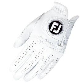フットジョイ FootJoy 【メンズ 左手用】ゴルフグローブ ピュアタッチ PURE TOUCH(ホワイト/21cm)FGPUWT