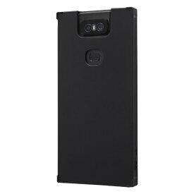 イングレム Ingrem ZenFone 6(ZS630KL) 耐衝撃ソフトケース KAKU/ブラック IS-RAZ6TK1/B ブラック
