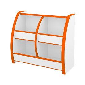充英アート Jueiart EVAキッズ おもちゃばこ (幅65.3×奥行30×高さ60cm) OB-65MO オレンジ