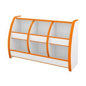 充英アート Jueiart EVAキッズ おもちゃばこ (幅95.6×奥行30×高さ60cm) OB-95MO オレンジ