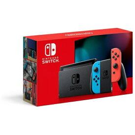 任天堂 Nintendo Nintendo Switch Joy-Con(L) ネオンブルー/(R) ネオンレッド [2019年8月モデル][ニンテンドースイッチ 本体 新型 ゲーム機本体]