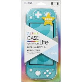 アローン Switch Lite用 クリアケース ALG-NSMCC【Switch Lite】