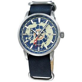 ハンティングワールド HUNTING WORLD メンズ腕時計 スーブニール HW027BL ブルー [並行輸入品]