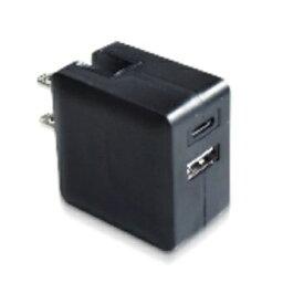 ルーメン 超コンパクト Power Delivery対応高速充電アダプター LAC-RACPD-BK ブラック[LACRACPDBK]
