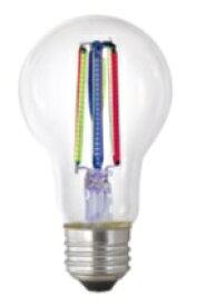 東京メタル TOME 特殊フィラメント型LED電球 レインボー LDA6RAINBOW-TM