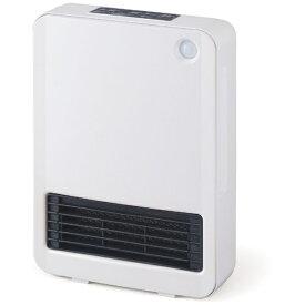 アイリスオーヤマ IRIS OHYAMA 人感センサー付 セラミックファンヒーター KJCH-126T-W ホワイト [人感センサー付き][KJCH126TW]