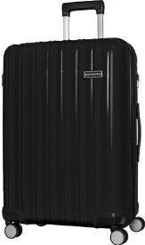 SKY NAVIGATOR スカイナビゲーター スーツケース 拡張式ジッパーキャリー 73L(83L) ブラック SK-0777-64-BK