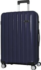 SKY NAVIGATOR スカイナビゲーター スーツケース 拡張式ジッパーキャリー 73L(83L) ネイビー SK-0777-64-NV