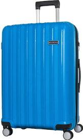 SKY NAVIGATOR スカイナビゲーター スーツケース 拡張式ジッパーキャリー 73L(83L) ターコイズ SK-0777-64-TQ