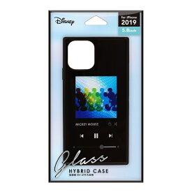 PGA iPhone 11 Pro 5.8インチ ガラスハイブリッドケース ミッキーマウス ブラック PG-DGT19A01MKY