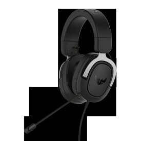 ASUS エイスース ASUSゲーミングヘッドセット TUF Gaming H3 Silver TUFGamingH3Silver[TUFGAMINGH3SILVER]