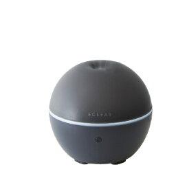 エレコム ELECOM エクリアミスト USB給電 抗菌加湿器 丸型 1901シリーズ ブラック HCE-HU1901UBK[HCEHU1901UBK]