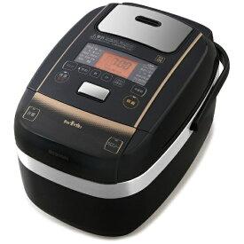 アイリスオーヤマ IRIS OHYAMA KRC-PC50-B 炊飯器 米屋の旨み 銘柄量り炊き ブラック [5.5合 /圧力IH][KRCPC50B]