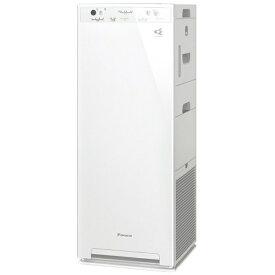 ダイキン DAIKIN 加湿空気清浄機 MCK40W-W ホワイト [適用畳数:19畳 /最大適用畳数(加湿):11畳 /PM2.5対応][加湿器 空気清浄機 MCK40WW]