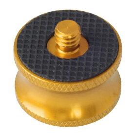 エツミ ETSUMI E6962 1/4M−3/8Fワイドアダプター ゴールド