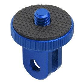 エツミ ETSUMI E6968 ゴープロカメラアダプター用スクリュー ブルー