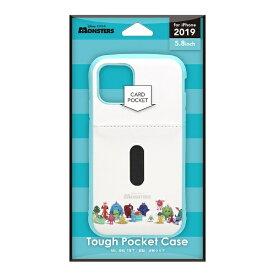 PGA iPhone 11 Pro 5.8インチ タフポケットケース モンスターズ・ユニバーシティ PG-DPT19A08MOU
