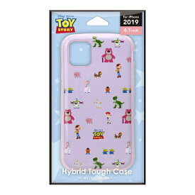 PGA iPhone 11 6.1インチ用 ハイブリッドタフケース PG-DPT19B03TOY トイ・ストーリー ピクセル