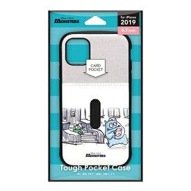 PGA iPhone 11 6.1インチ 用 タフポケットケース  モンスターズ・インク PG-DPT19B07MOI
