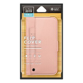 PGA iPhone 11 Pro 5.8インチ用 スライドポケットフリップカバー ピンク PG-19AFP12PK