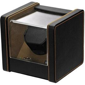 エスプリマ 1本用ワインディングマシーン(2WAY電源) SP2183021BK(ブラック&ブラウン) 【正規品】 SP2183021BK ブラック&ブラウン
